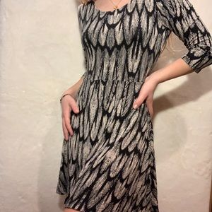 Express Feather Dress